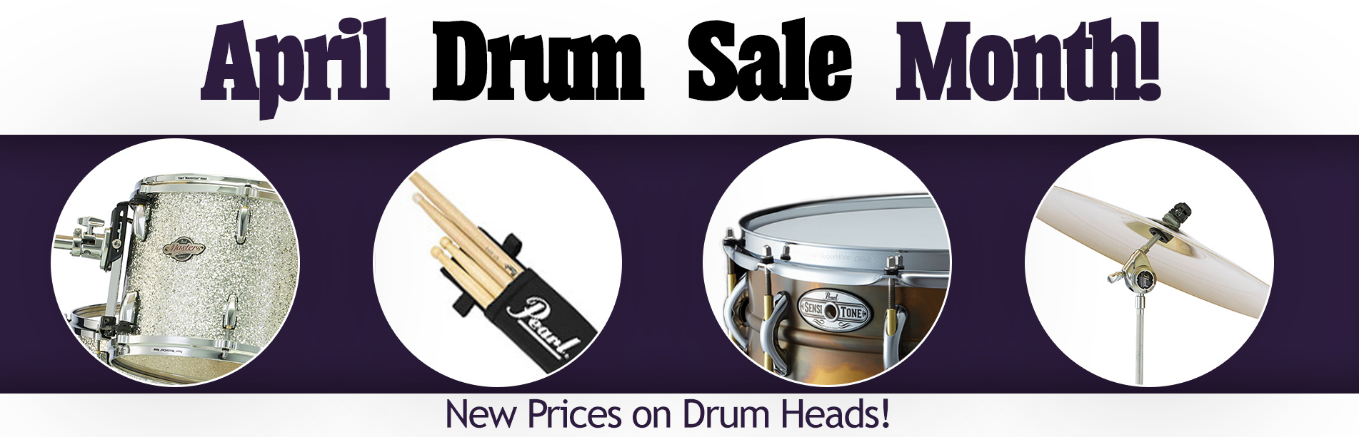 April-Drum-Sale-Month